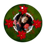Ornament (Round) - Christmas8