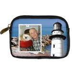 lighthouse leather camera case - Digital Camera Leather Case