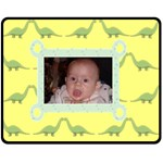Dino Blanket - Fleece Blanket (Medium)