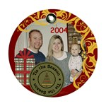 family 2004 - Ornament (Round)