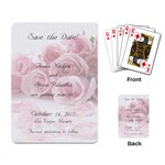 save the date - Playing Cards Single Design