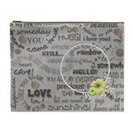 love - cosmetic bag - xl - Cosmetic Bag (XL)