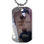 MIJO - Dog Tag (One Side)