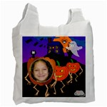marching jackolatern Trick or Treat Bag - Recycle Bag (Two Side)