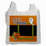 Recycle Bag (One Side): Halloween10