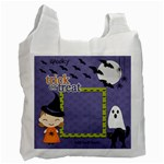 Recycle Bag (One Side): Halloween12