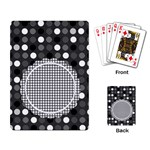 black - Playing Cards Single Design (Rectangle)