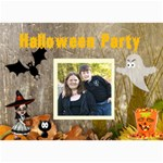 Halloween Party Invitation 2 - 5  x 7  Photo Cards