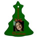 Jennie and Will - Ornament (Christmas Tree)