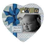 Baby ornament - Ornament (Heart)