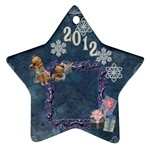 Blue angels 2011 Christmas ornament 2 SIDE ornament - Star Ornament (Two Sides)