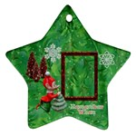 Elf Remember When Christmas ornament 2011 2 SIDE - Star Ornament (Two Sides)
