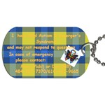 cj - Dog Tag (One Side)