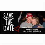 Save The Date Photo Card - 4  x 8  Photo Cards