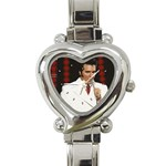 zsuzsuanna - Heart Italian Charm Watch