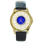 ASL watch - Round Gold Metal Watch