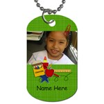 Dog Tag (Two Sides): BAck to School1