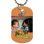 Dog Tag (Two Sides): Love of Family