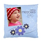 Serenity Blue Cushion Case 1xSided - Standard Cushion Case (One Side)
