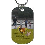 Dog Tag (Two Sides): Family is Forever