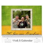 Edited CALENDAR for MOM - Wall Calendar 11  x 8.5  (18 Months)