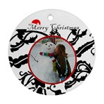 Christmas Round - Ornament (Round)