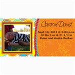 Carson David - 4  x 8  Photo Cards