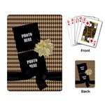 Crossing Winter Playing Cards 1 - Playing Cards Single Design (Rectangle)