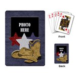 Lone Star Holidays Playing Cards 1 - Playing Cards Single Design (Rectangle)