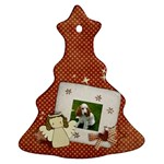Christmas Tree ornment/angel/snowman (2 sides) - Christmas Tree Ornament (Two Sides)