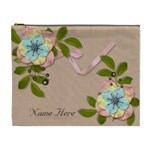 XL Cosmetic Case: Big Flowers10 - Cosmetic Bag (XL)