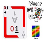 Rainbow Deck v1.17 Deck 1 - Playing Cards 54 Designs (Rectangle)