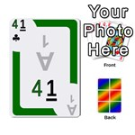 Rainbow Deck v1.17 Deck 2 - Playing Cards 54 Designs (Rectangle)