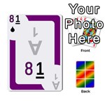 Rainbow Deck v1.17 Deck 3 - Playing Cards 54 Designs (Rectangle)