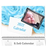 Roses for you (any Year) 2020 Calendar 8.5x6 - Wall Calendar 8.5  x 6