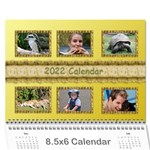 Tutti General Purpose (any Year) Calendar 8.5x6 - Wall Calendar 8.5  x 6