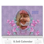 Pretty in Mauve 2019 (any year)Calendar, 8.5x6 - Wall Calendar 8.5  x 6