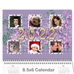 The Look of Lace 2019 Calendar 8.5x6 - Wall Calendar 8.5  x 6