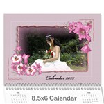 Framed with Flowers 2019 (any Year) Calendar 8.5x6 - Wall Calendar 8.5  x 6