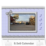 Elegant in Silver 2019 (any Year) Calendar 8.5x6 - Wall Calendar 8.5  x 6