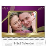 Memories 2019 (any Year) Calendar 8.5x6 - Wall Calendar 8.5  x 6