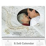 Our Wedding or Anniversary 2019 (any Year Calendar Mini - Wall Calendar 8.5  x 6