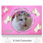 Little Butterflies 2019 (any Year) Calendar 8.5x6 - Wall Calendar 8.5  x 6
