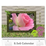 My Garden 2019  (any Year) Calendar 8.5x6 - Wall Calendar 8.5  x 6