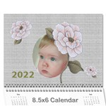 Delight 2019 (any year) Calendar 8.5x6 - Wall Calendar 8.5  x 6