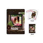 christmas - Playing Cards Single Design (Mini)