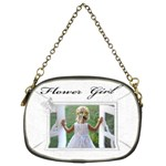 Flower Girl (2 sided ) purse - Chain Purse (Two Sides)