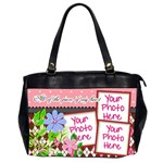 All of the Pieces of My Heart Office - Oversize Office Handbag (2 Sides)