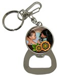 Bottle opener keychain: Memories - Bottle Opener Key Chain
