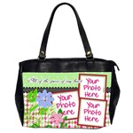 All of the Pieces of My Heart Office2 - Oversize Office Handbag (2 Sides)